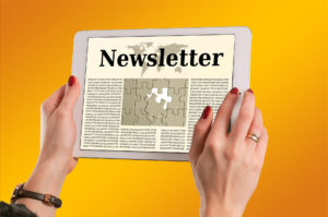 handy copywriting newsletter management